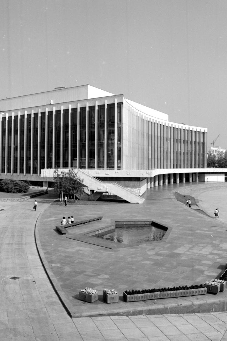 Палац культури «Україна» в Києві, серпень 1973 року.