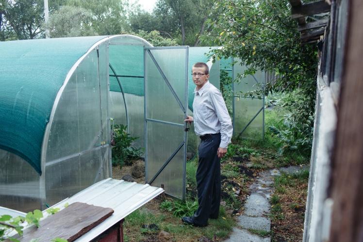 Теплиця, де Віктор вирощував коноплі.