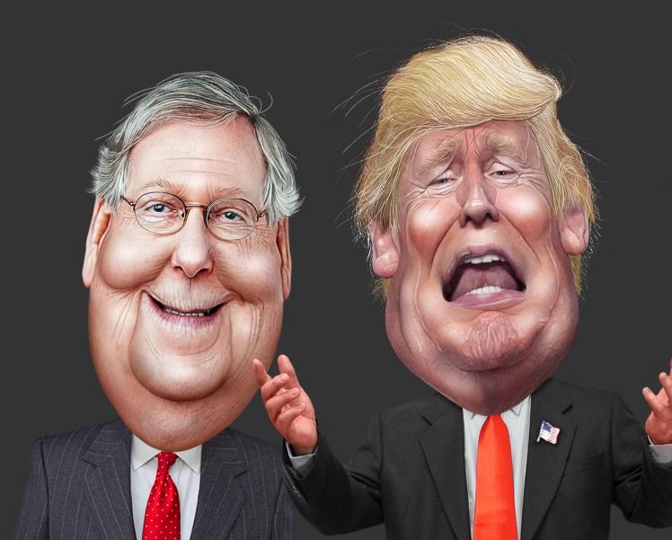 Лідер республіканців у Сенаті передумав і вирішив підтримати Трампа