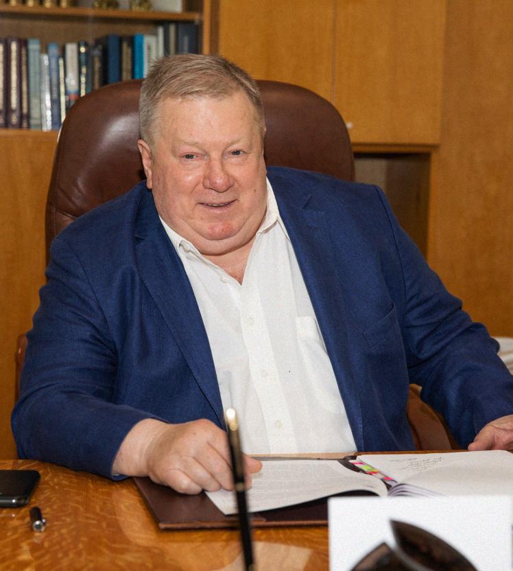 Александр Дегтярев, генеральный директор ГП «Конструкторское бюро «Южное» им. М. К. Янгеля.