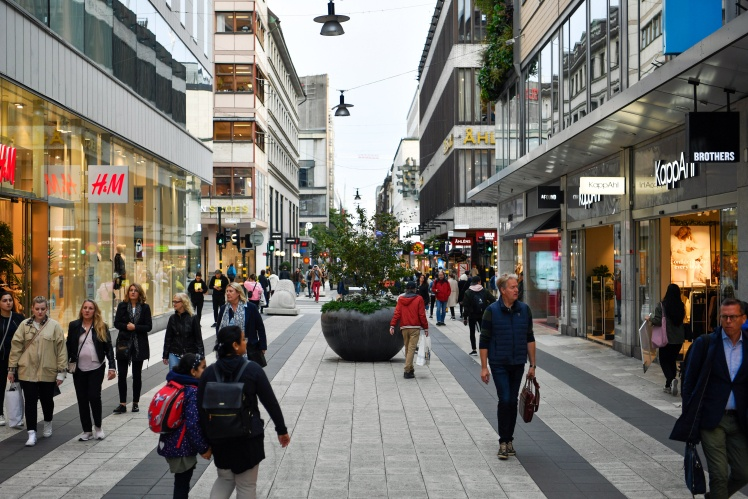 Стокгольм, Швеция, 21 сентября 2020 года.