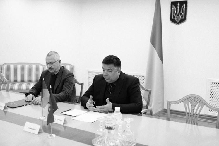 Александр Тупицкий и его заместитель Сергей Головатый