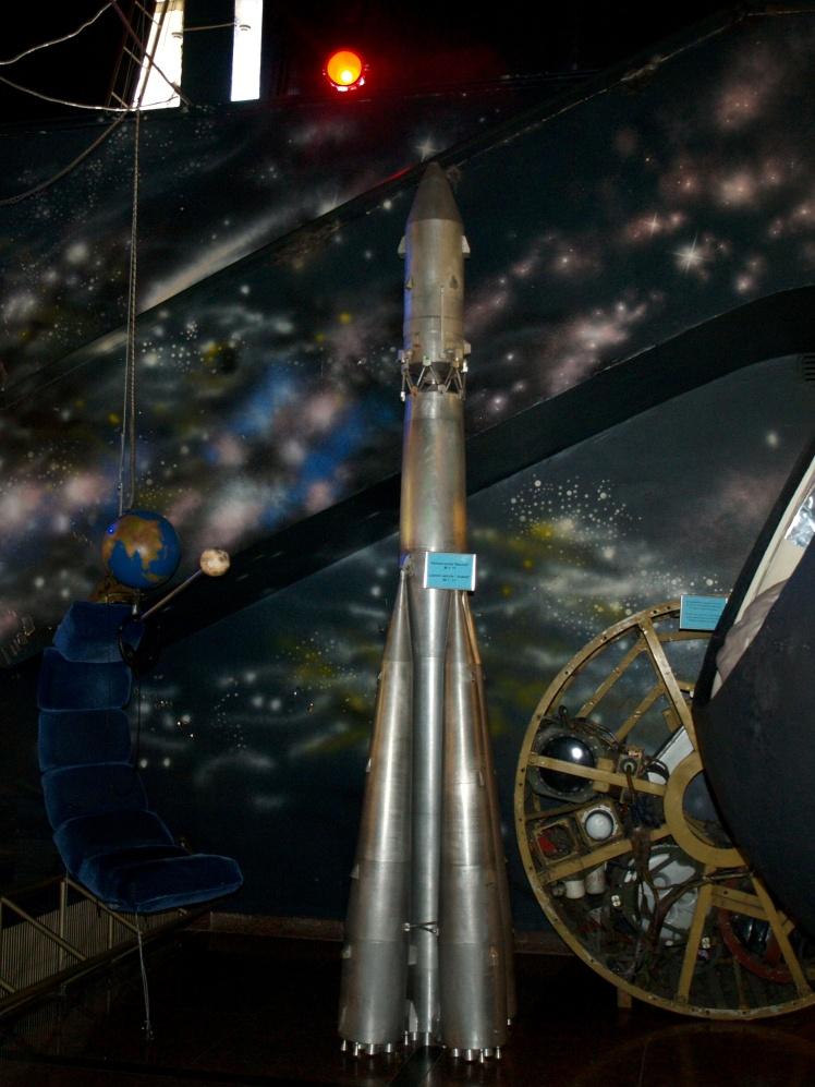 Експонати в Національному музеї космонавтики ім. Корольова в Житомирі.