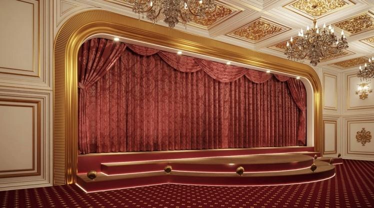 Театр всередині палацу.
