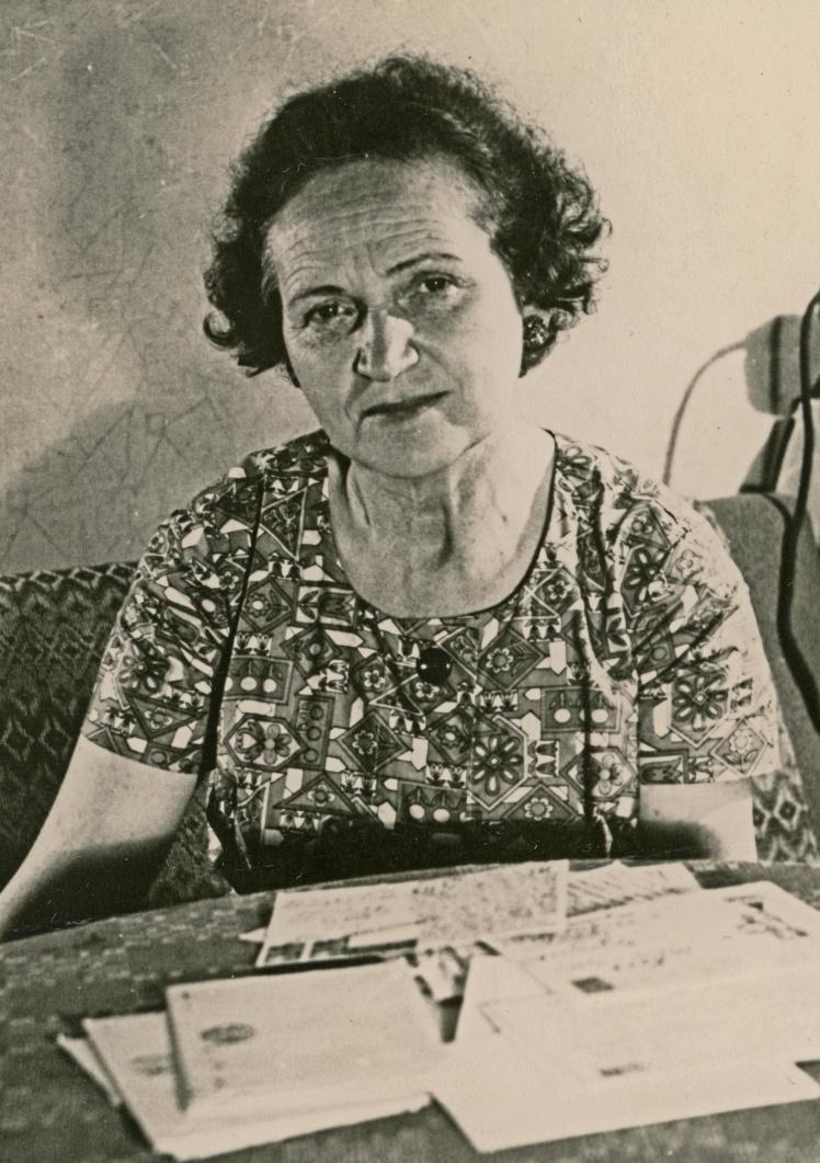Діна Пронічева, 1955 рік.